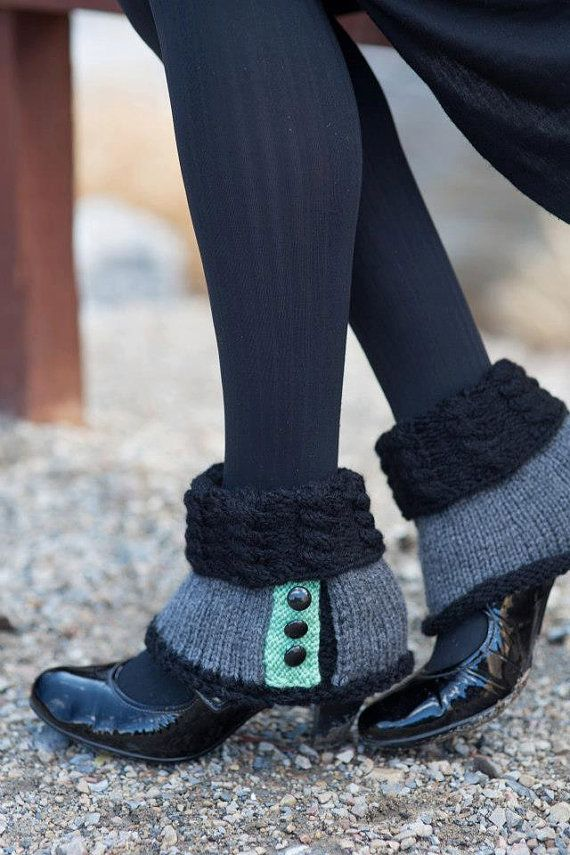 Women's Fashion Spats  French Revolution Inspired by BundledKnits, $40.00