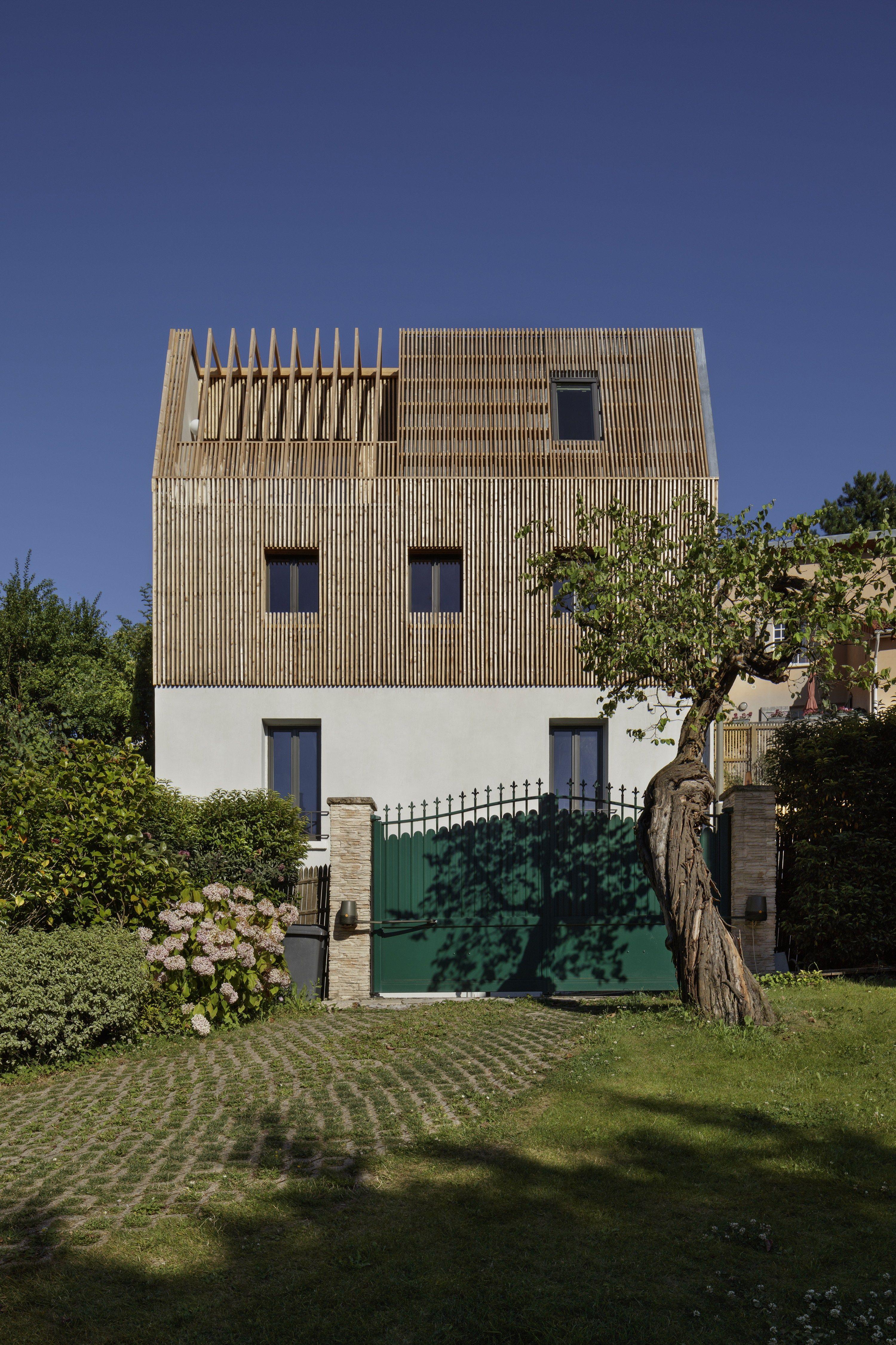 Rehausse Maison Ossature Bois