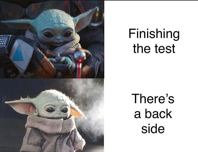 Baby Yoda Memes 24 7 On Instagram Follow Lilbabyyyodaaa For More Memes Like This Memez Dailydoseof Yoda Funny Funny Star Wars Memes Funny Relatable Memes