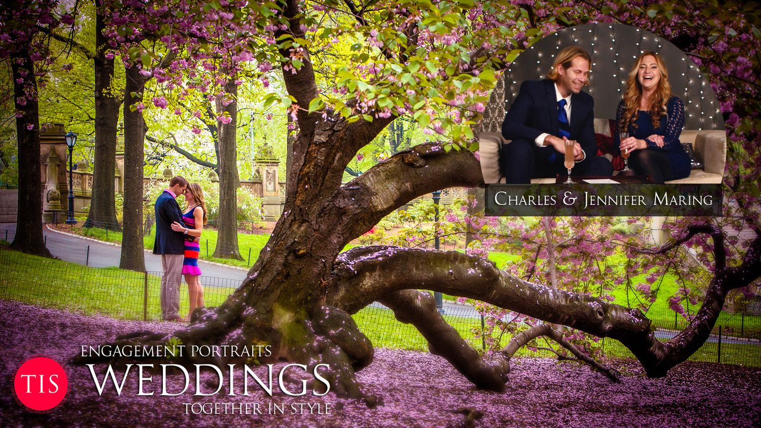 WEDDINGS — Engagement Portaits Together In Style - A Talk Show hosted by Charles and Jennifer Maring at www.togetherinstyle.com