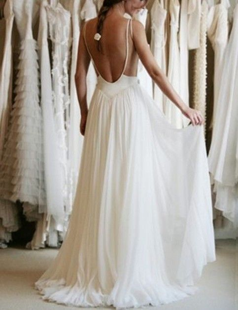 Wedding Dresses,2017 Sexy Backless Wedding Dress, Beautiful Backless Wedding Dresses and Gowns, Lace and Tulle Wedding Dress, Sex Wedding Dresses
