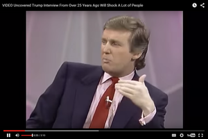 VIDEO: Uncovered Trump Interview From 25 Years Ago Will Shock A Lot of People