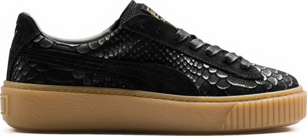 ad3e815f3533 Brand New Puma Platform ExotSkin Women s Athletic Fashion Sneakers  363377  01
