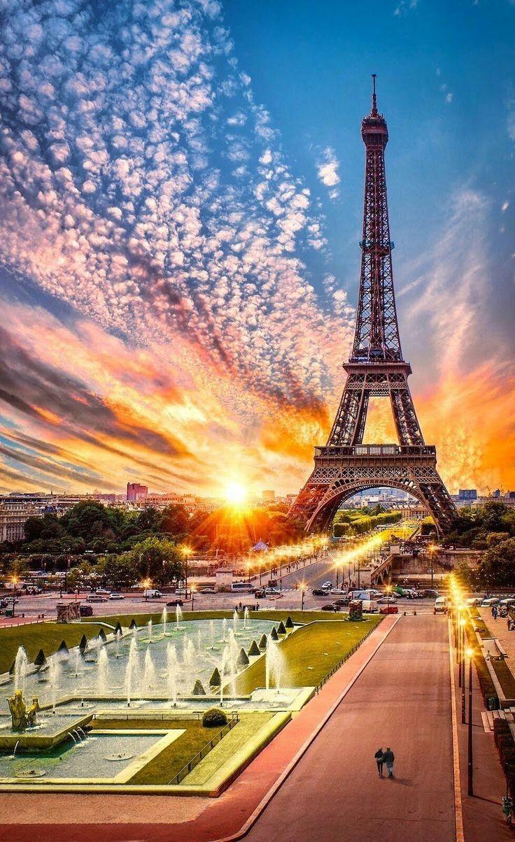 Красивые парижские картинки, открытки другие страны