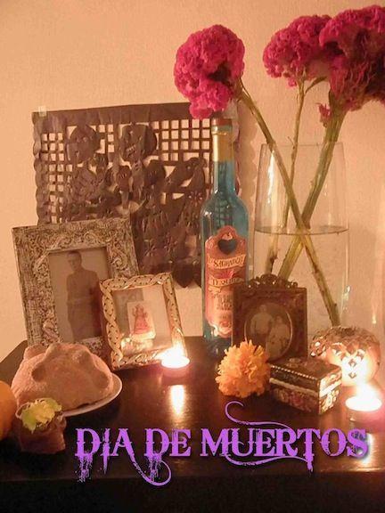 DIY Día de Muertos Altar