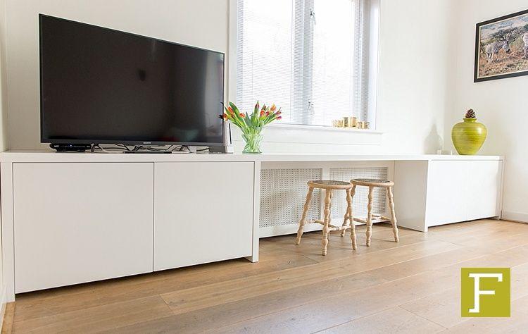 Design Kast Maatwerk : Tv meubel dressoir kast maatwerk hillegom meubelmaker design fijn