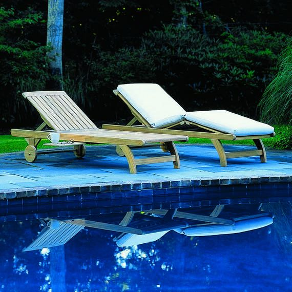 Kingsley Bate Elegant Outdoor Furniture Classic Knee Bend Chaise Teak Pinterest Outdoor
