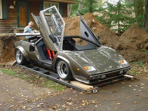 It Took Him 17 Years To Build A Lamborghini From Scratch Countach