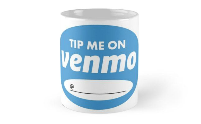 'Tip Me on Venmo Graphic with FillIn Spot to Customize