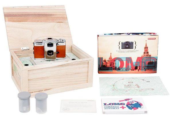 Lomo LC-A Silver Lake Camera