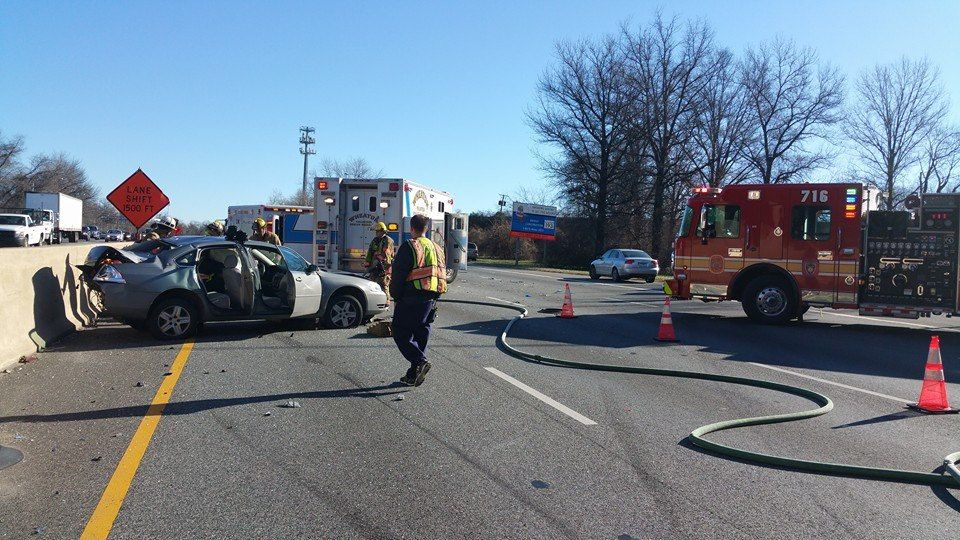 Beltway Crash 1/11/16 Local hospitals, Emergency