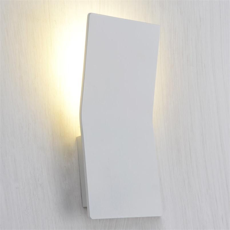 Led Indoor Wall Light Surface Mounted Bedside Lamps Modern Acrylic ...
