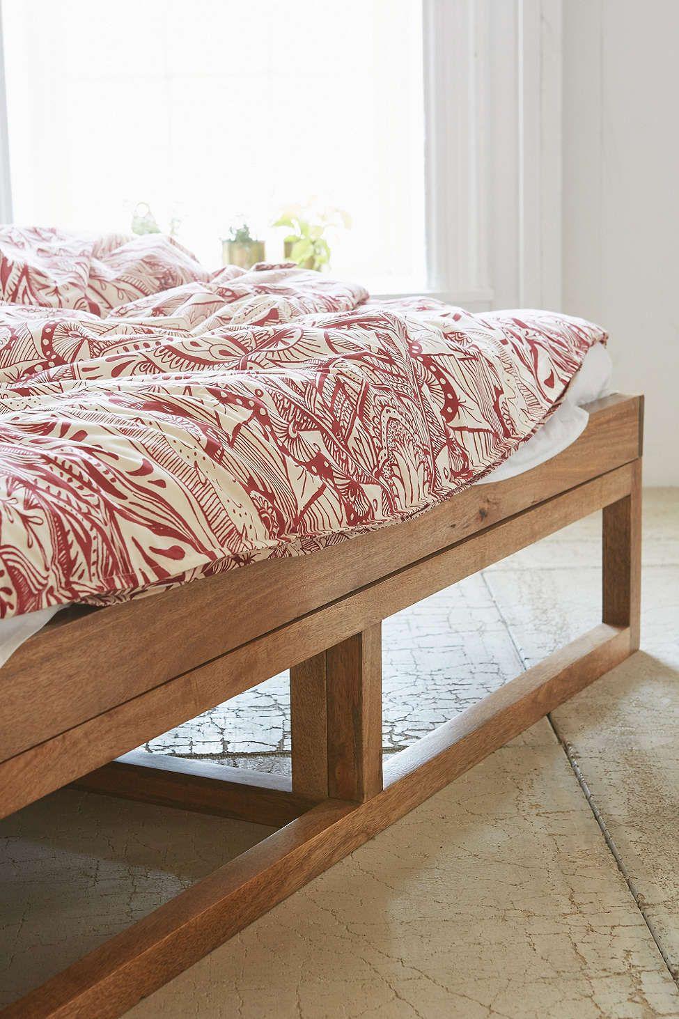 Morey Platform Bed | Pinterest | Betten, Bett und Einrichten und Wohnen