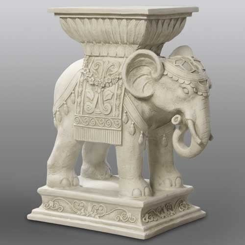 Indian India Elephant Art Outdoor Garden Statue Sculpture by Orlandi 18  Tall is part of Outdoor garden India -