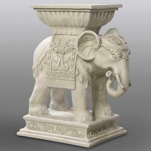 Indian India Elephant Art Outdoor Garden Statue Sculpture by Orlandi 18  Tall is part of Outdoor garden India -