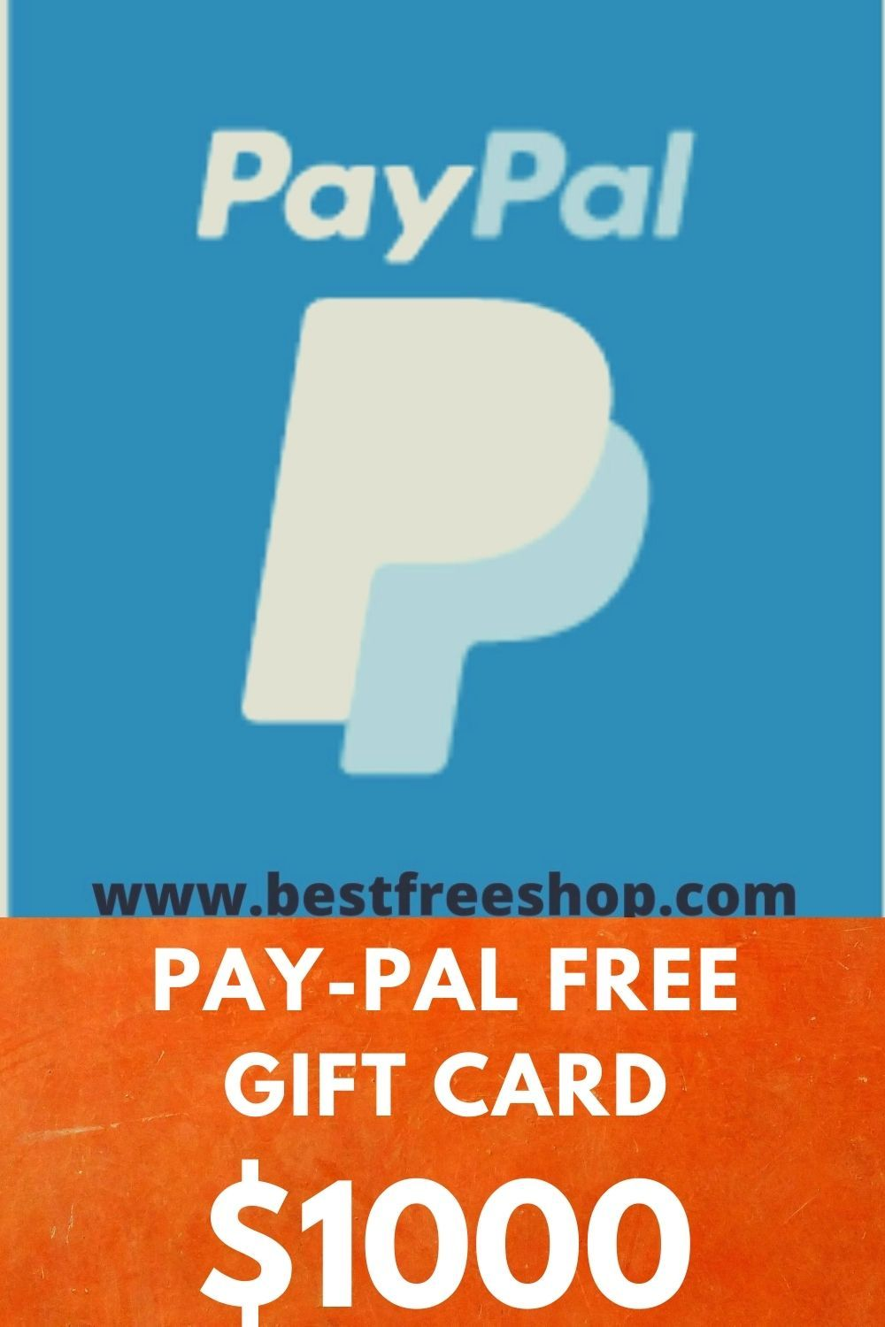 Pay Pal Free Gift Card In 2020 Paypal Gift Card Gift Card Free Gift Cards