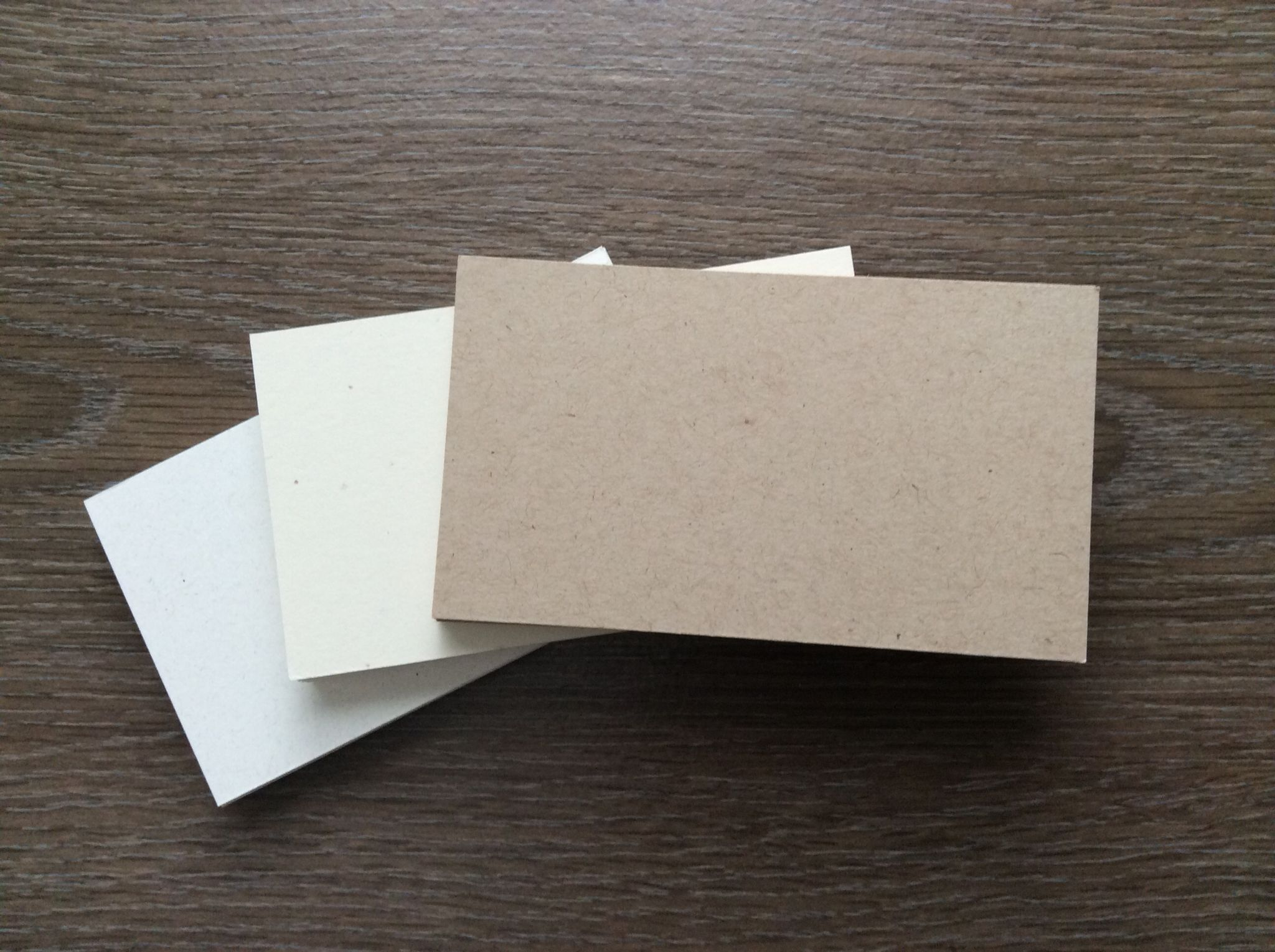 Handmade Business Cards made from 100% recycled paper & renewable ...