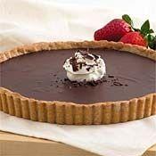 Chocolate Hazelnut Truffle Tart Recipe