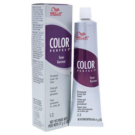 Color Perfect Permanent Creme Gel Toner T11a Lightest Ash Blonde