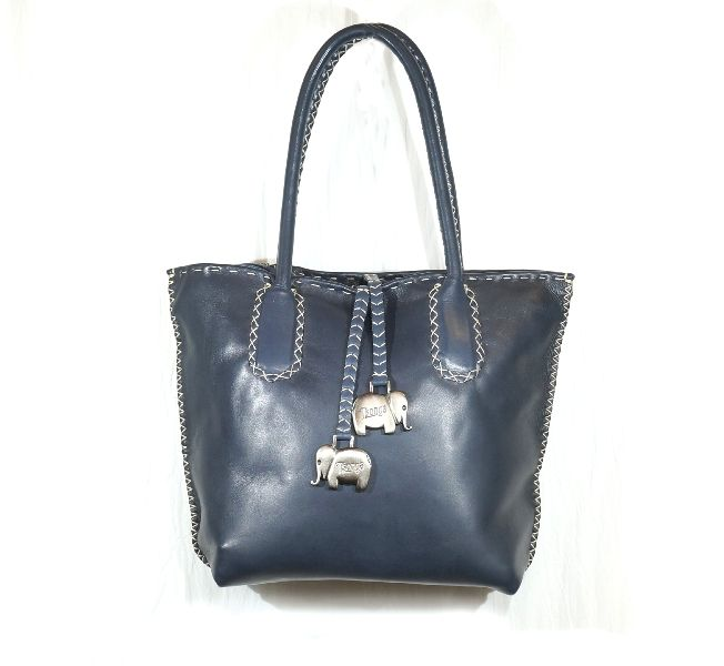 Ocean Genuine Leather Tsonga Azetha Bag Handcrafted From Luxuriously Soft Dimensions 35 Cm