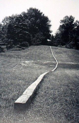 Carl andre secant landscape pinterest minimalisme for Art minimal et conceptuel