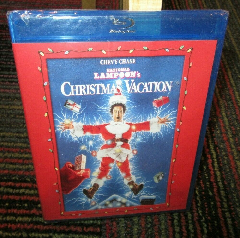 NATIONAL LAMPOON'S CHRISTMAS VACATION BLURAY MOVIE, CHEVY