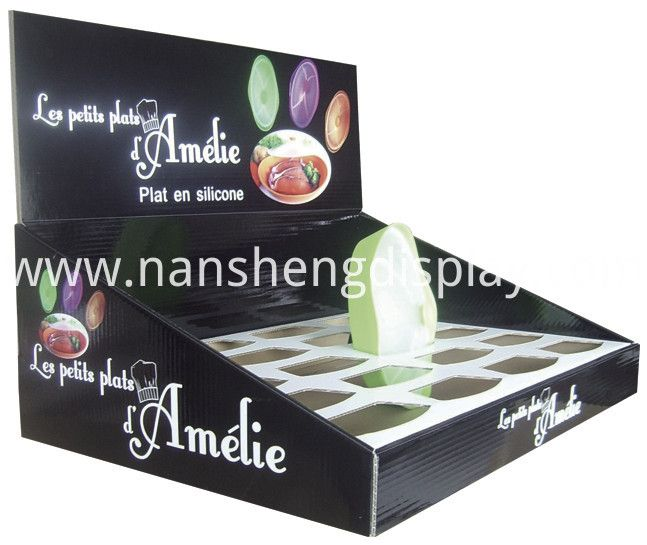 Cardboard Counter Display for #Cosmetics  It's not pre-made box, but