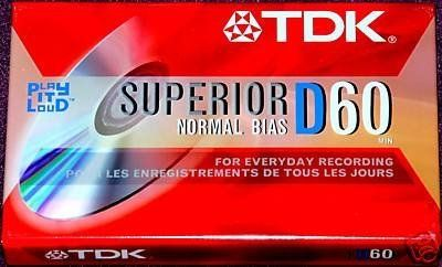 Discontinued by Manufacturer 4-Pack TDK Premium Grade 8mm Video Tape