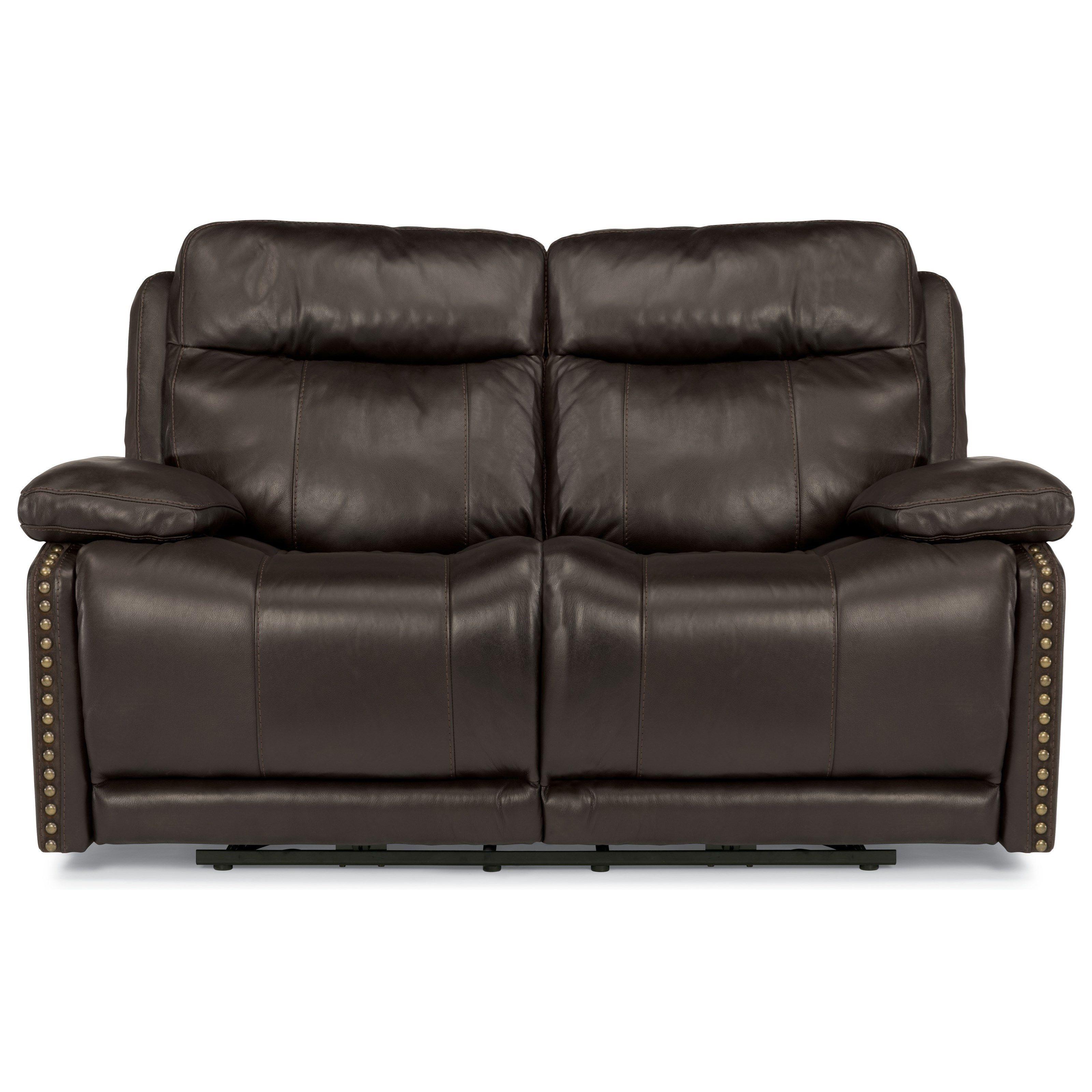 Excellent Latitudes Russell Power Reclining Love Seat By Flexsteel Machost Co Dining Chair Design Ideas Machostcouk