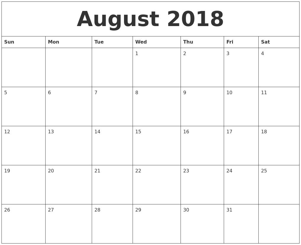 august 2018 calendar printable holidays august 2018 calendar wallpaper august 2018 calendar printable with