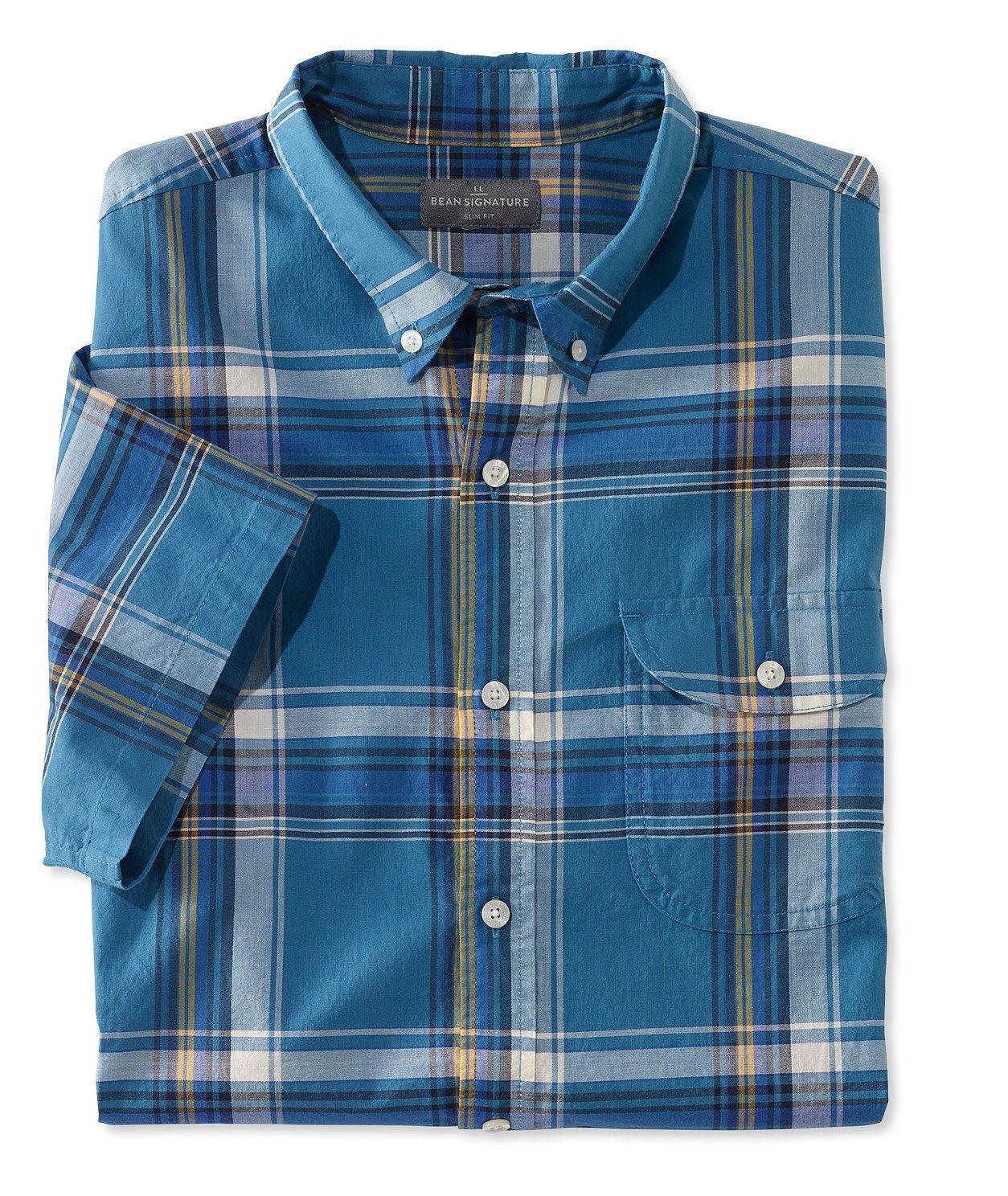 Signature Men s Madras Shirt  61ce1dc4406c