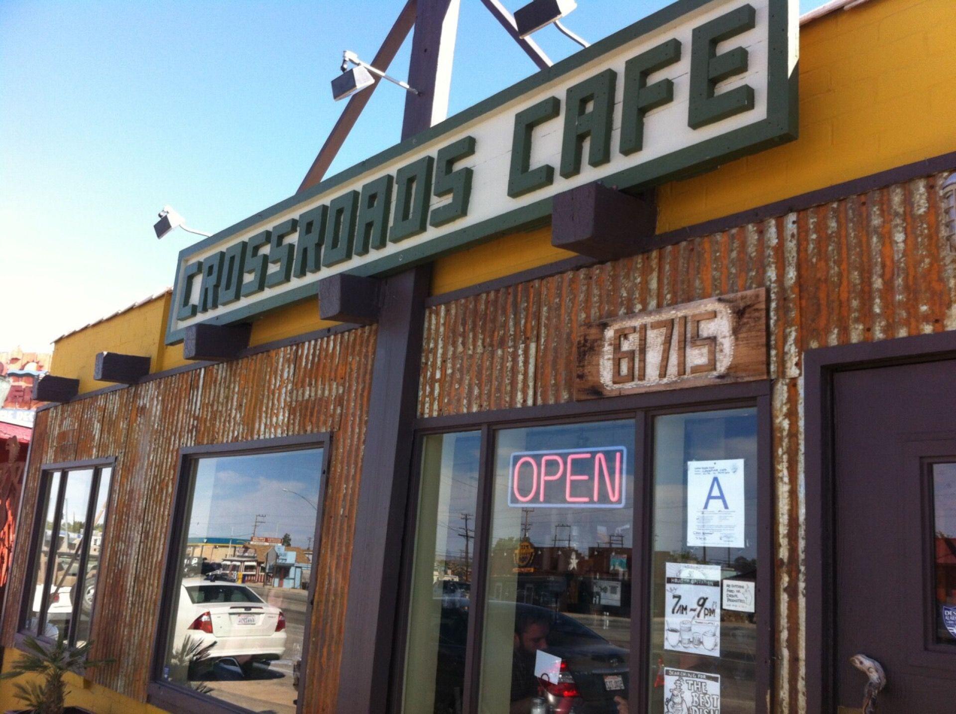 Crossroads Cafe Tavern Cafe Vegan Restaurants Joshua Tree