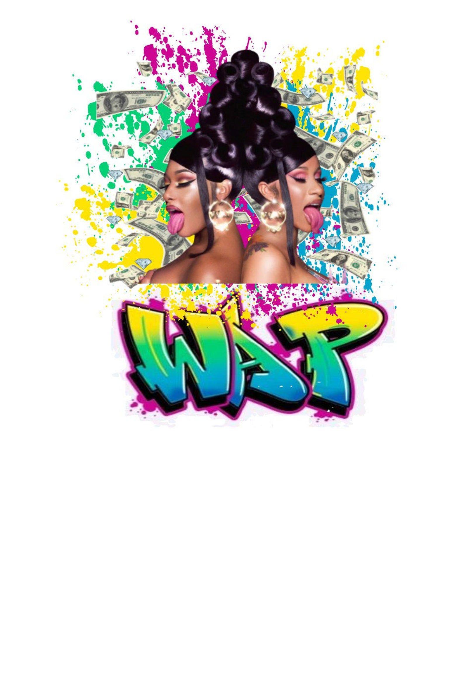 Wap Cardi B And Meg Png Jpeg Pdf Download Etsy In 2021 Cardi B Pics Cardi B Photos Cardi B