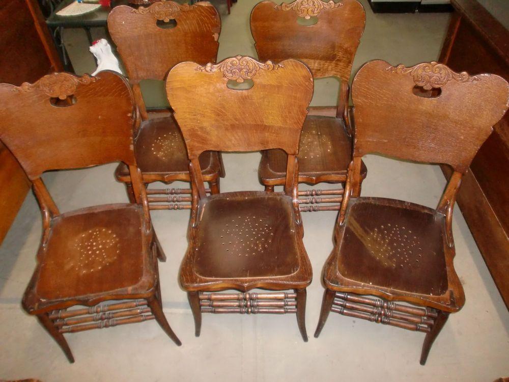 Beliebt Antike Esszimmer Stühle (mit Bildern) Vintage