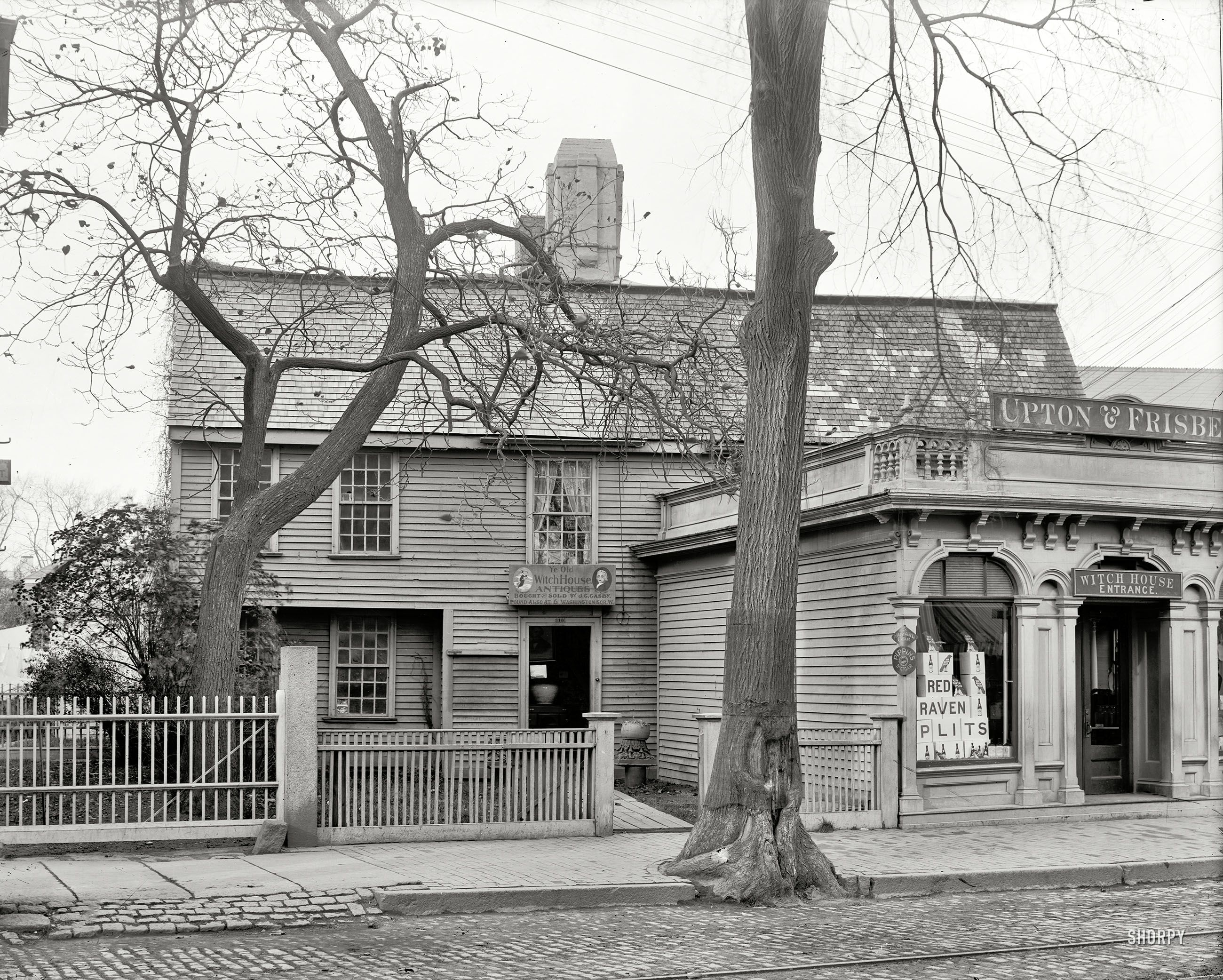 Salem ma circa 1901 the witch house ghost for Salem house