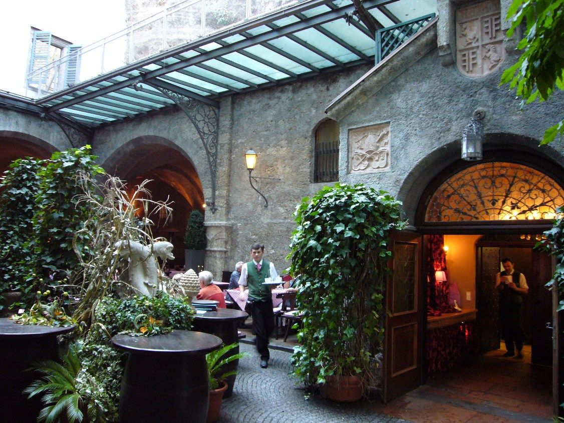 Stiftskeller St. Peterthe oldest restaurant in all of