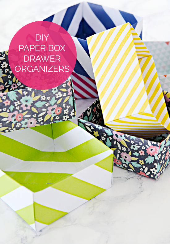 44 Diy Paper Box Drawer Organizers And An Organized Everything