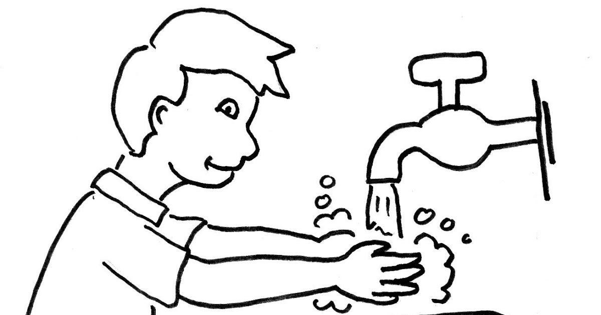 Cuci Tangan Pakai Sabun Animasi