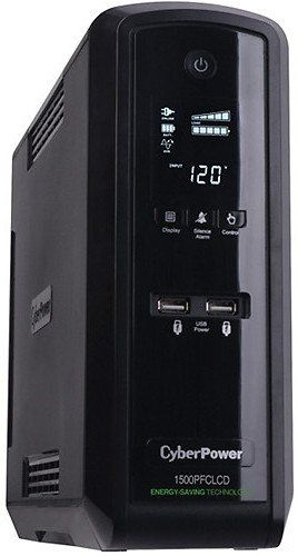 Cyberpower Cp1500pfclcd Pfc Sinewave Ups System Kit With 3 Outlet Dual Usb Surge Protector Get It For 136 95 Was Coupons Discounts Ups System Pure Products Cool Things To Buy
