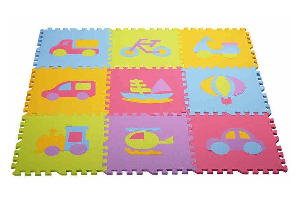 404014cm Soft Foam Eva Floor Mat Jigsaw Tiles Puzzle Mats Kids