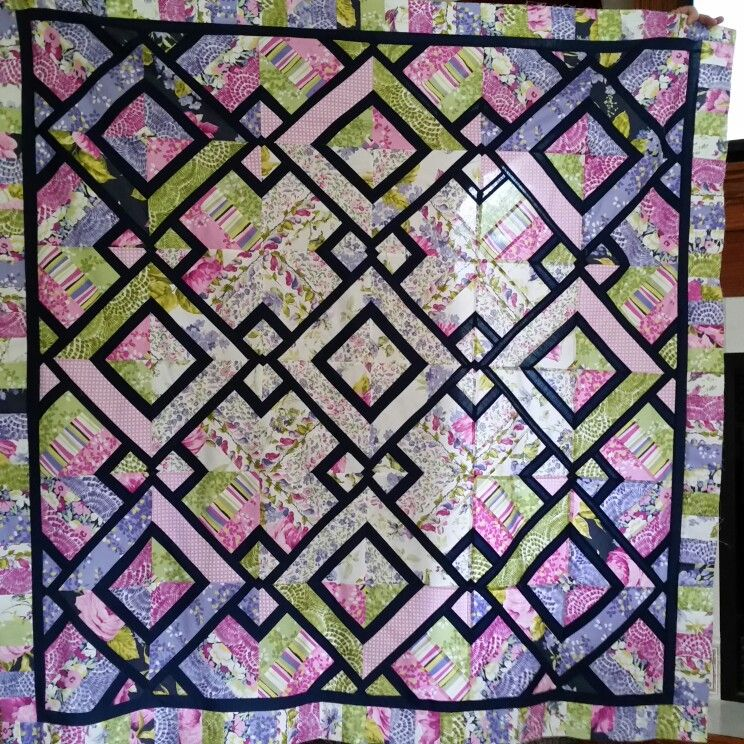 Amazing Jelly Roll quilt with a twist. From 3 Dudes Quilting and ... : three dudes jelly roll quilt - Adamdwight.com