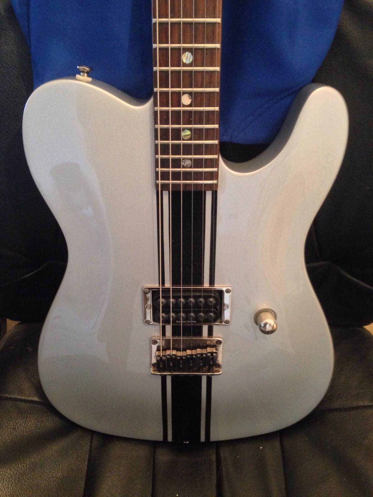 Rare 1980 S Fender Fully Bound Esquire Telecaster Mij Fujigen An