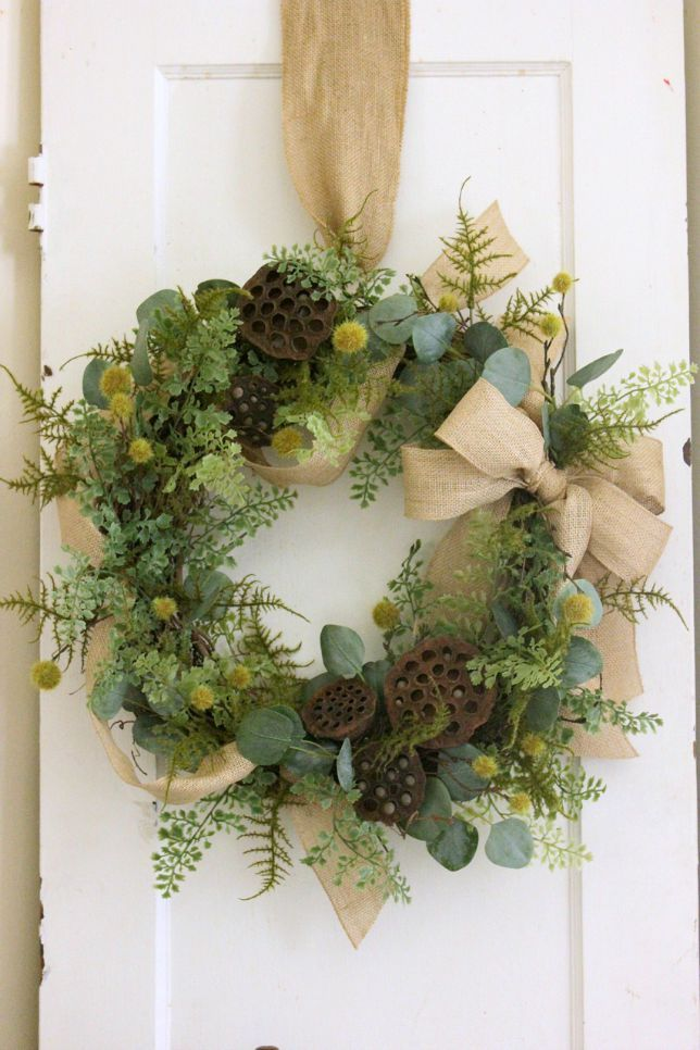 Photo of How to Make A Natural Wreath