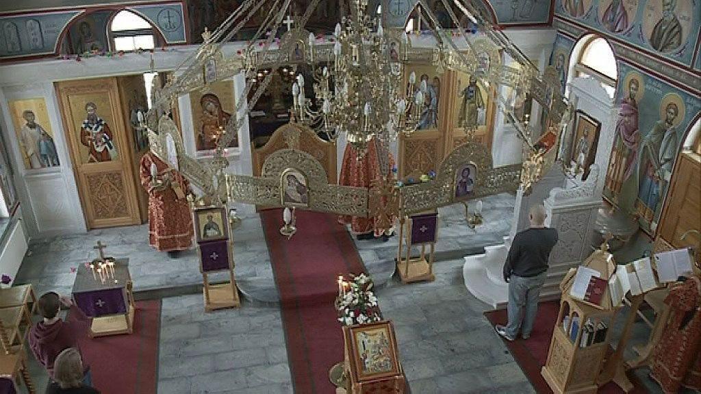 Arkistokuva: Ortodoksikirkko Joensuussa Copyright: MTV.