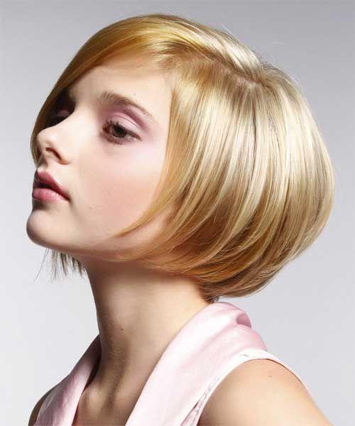 Kurzhaarfrisuren blond pflegeleicht