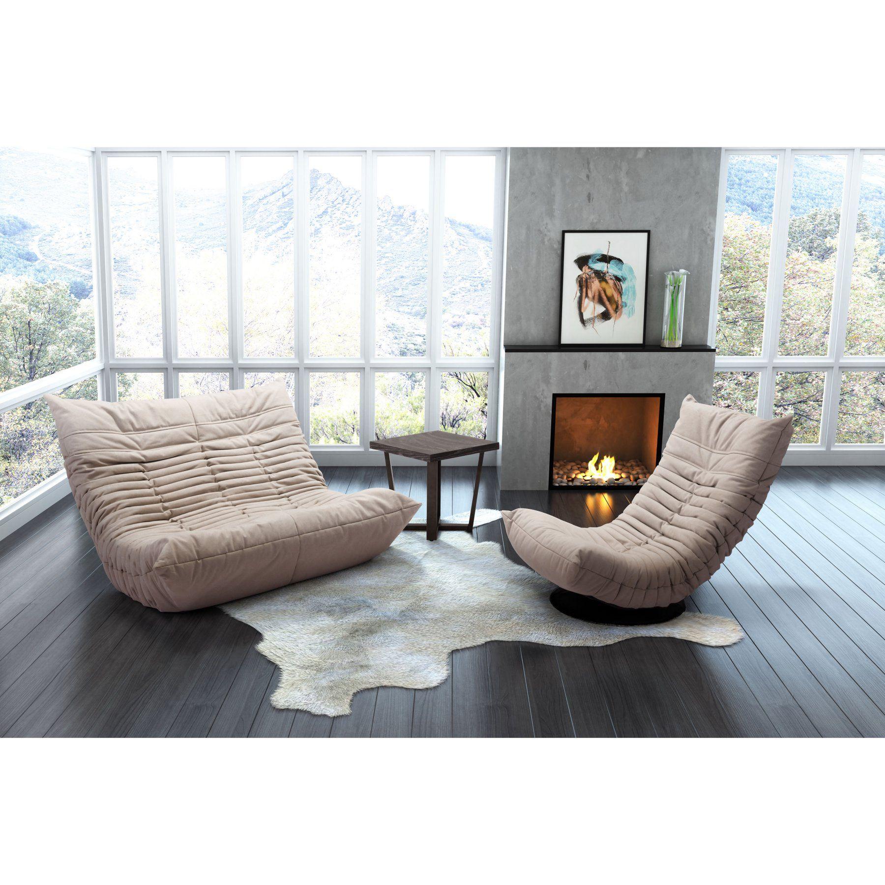 Pleasing Zuo Modern Contemporary Down Low Swivel Chair 100682 Inzonedesignstudio Interior Chair Design Inzonedesignstudiocom