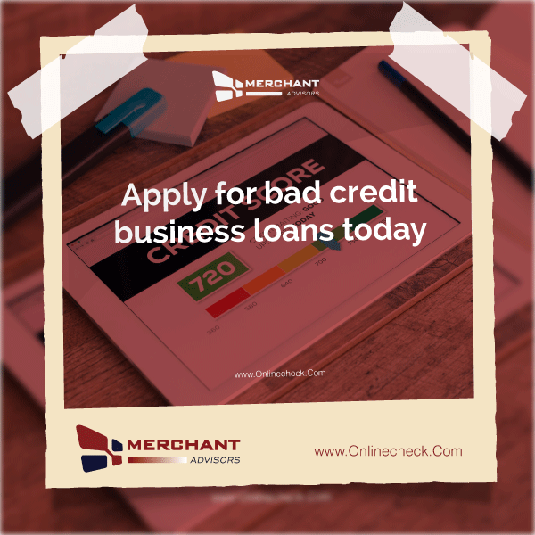 Guaranteed Bad Credit Business Loans Merchant Advisors How To Fix Credit Credit Repair Business Loans