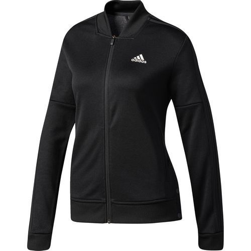 Adidas  mujer 's tricot Snap Track Jacket (Black, Talla X LARGE