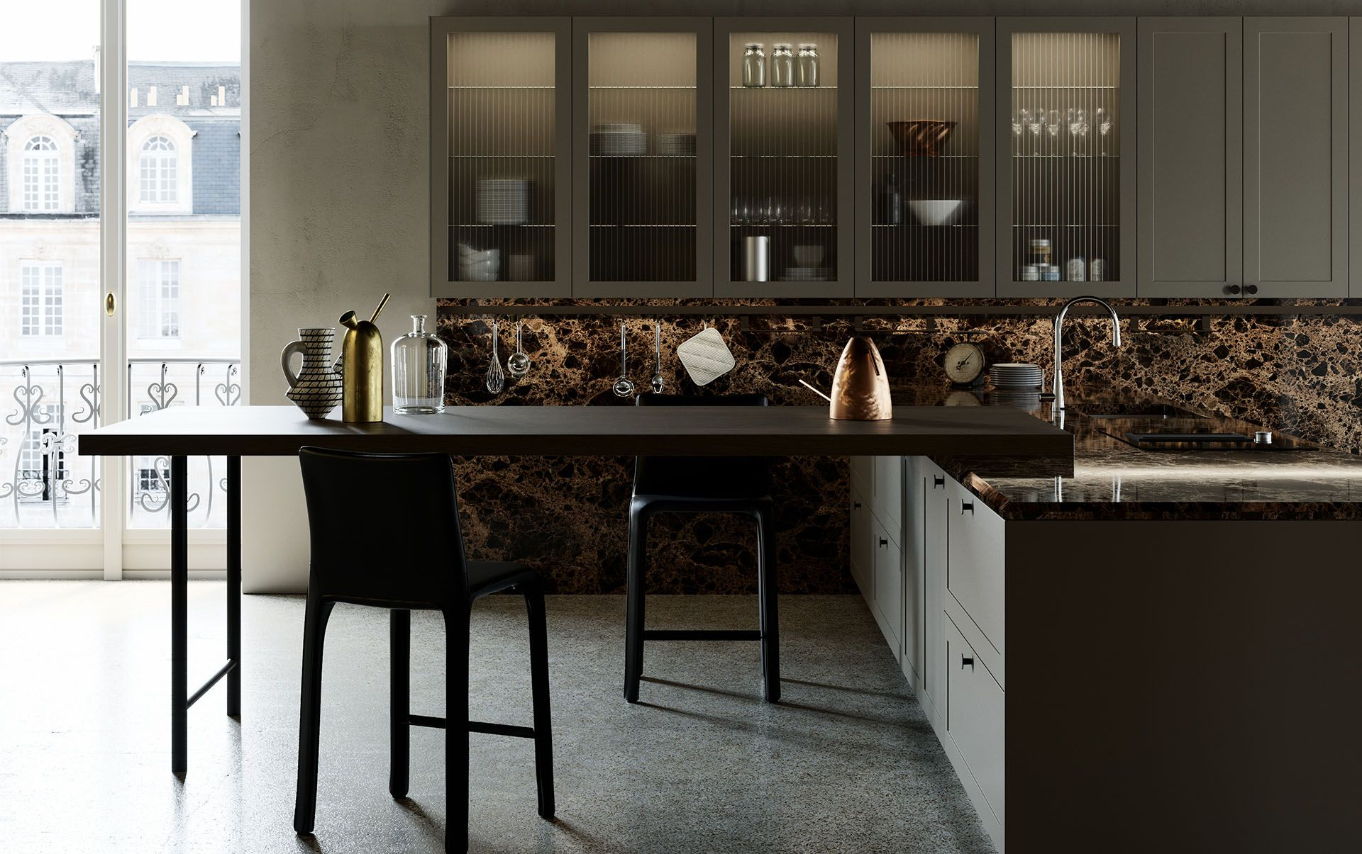 Modern Italian Custom Made Kitchen Cabinets Available In Brooklyn Ny Exclusive Home Interiors Luxury Kitchen Design Modern Italian Modern Kitchen