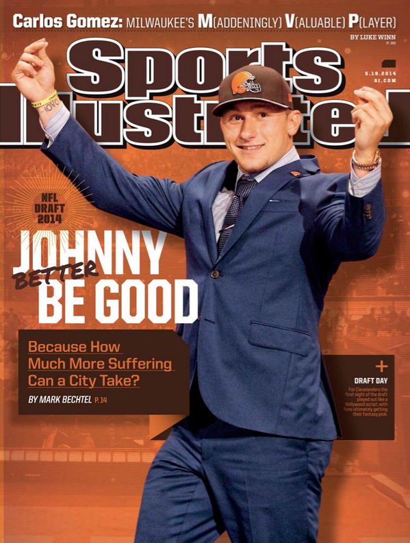 Twitter / SBNationCFB No pressure, Johnny! Johnny